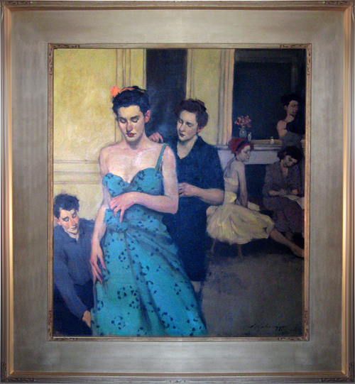 MALCOLM LIEPKE<BR/>The New Gown