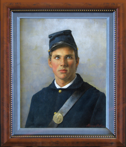 STEVEN POLSON<BR/>Union Soldier