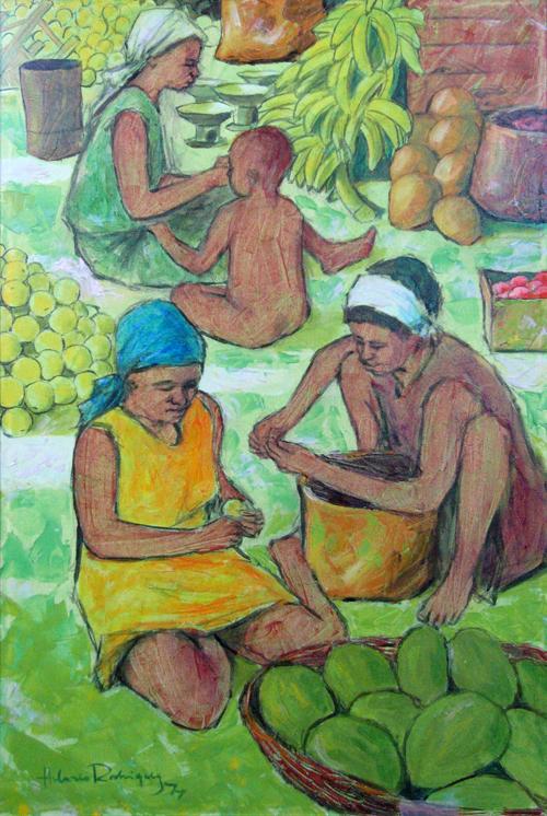 HILARIO RODRIQUEZ<BR/>Women Working