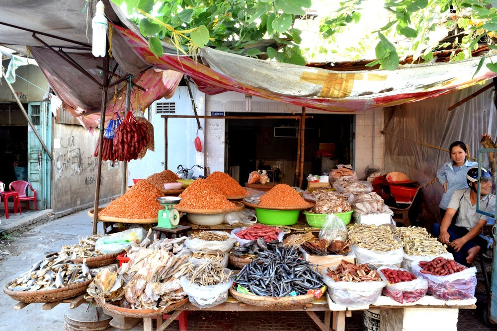 Dried fish in Tra Vinh