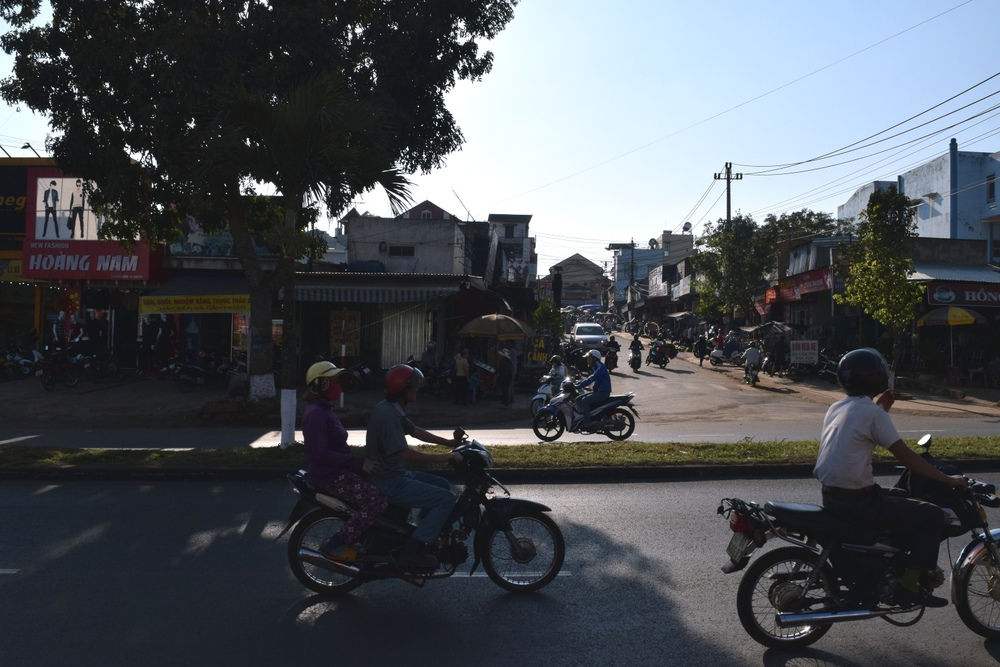 A small town somewhere between Nha Trang and Hoi An