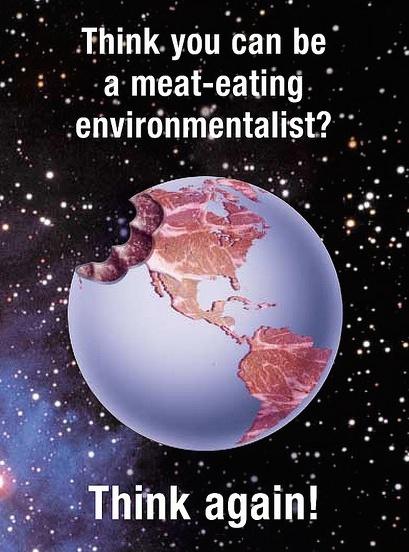 Environmentalism and veganism. Go vegetarian. goveg.org. Go vegan. Save the planet.