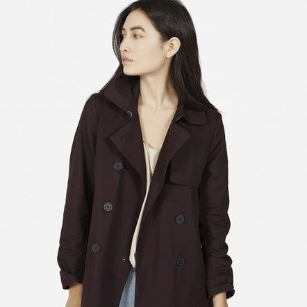 Adorable fig colored Swing Trench that I can't stop thinking about.