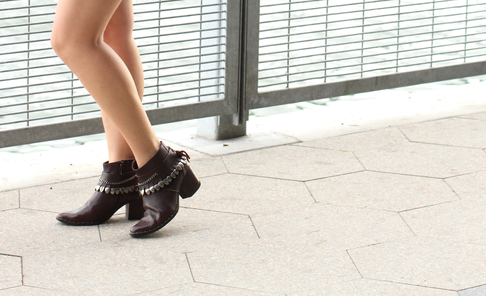 High quality, versatile, ethically produced & sustainably sourced booties by  Freda Salvador .