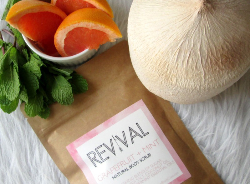 Trunk Collective Revival Grapefruit and Mint Body Scrub