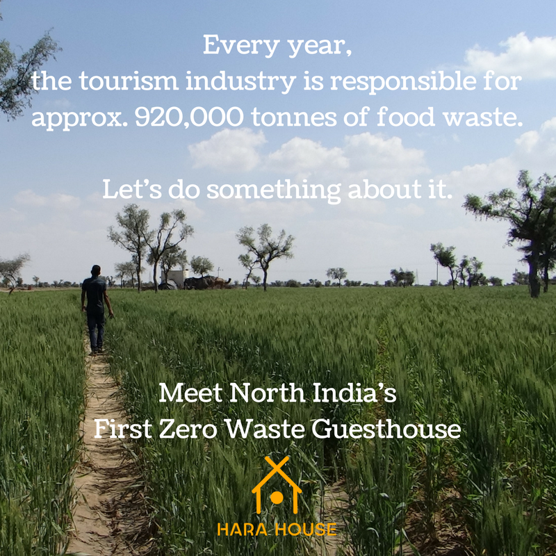 Hara House tourism hospitality zero waste travel India