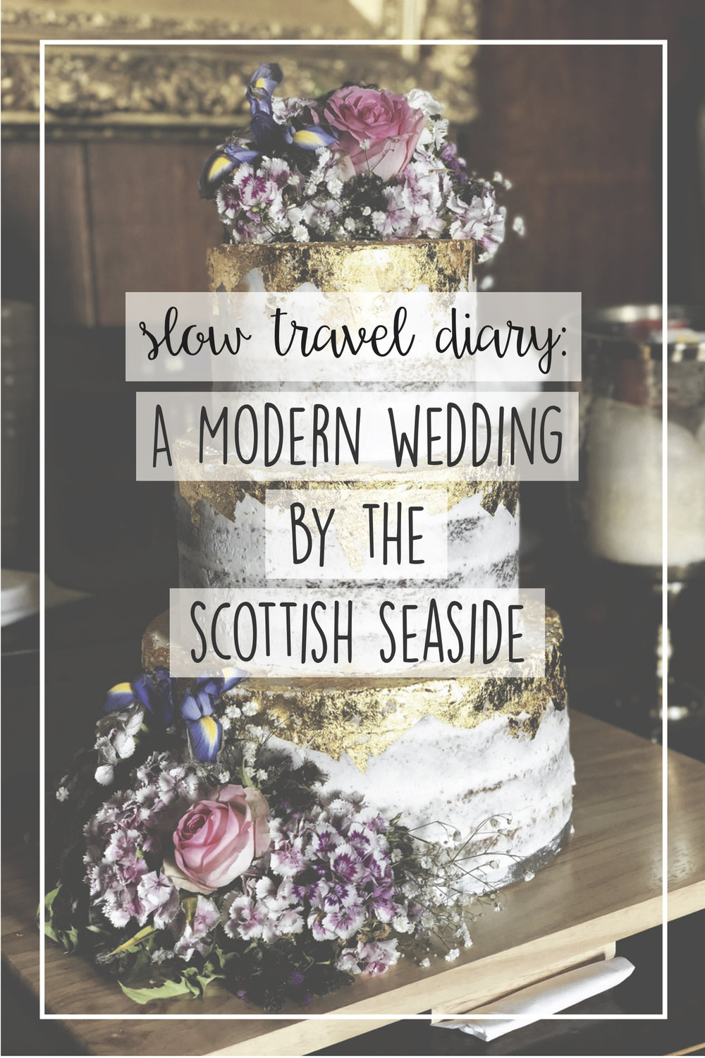 slow travel, Scotland wedding, gay wedding