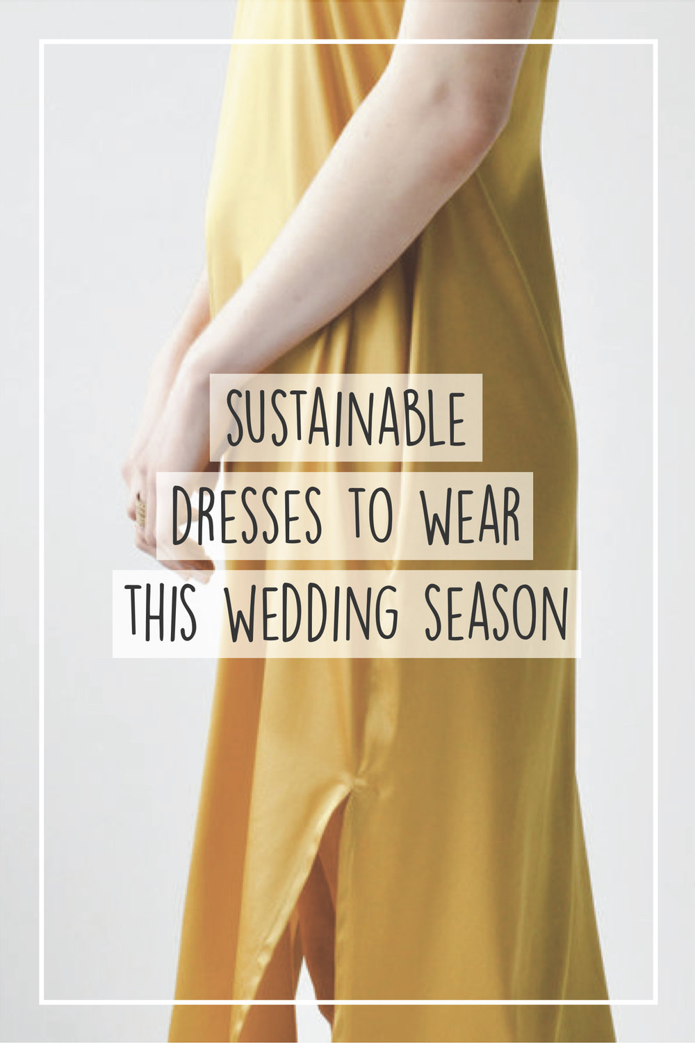 wedding season, sustainable wedding dresses