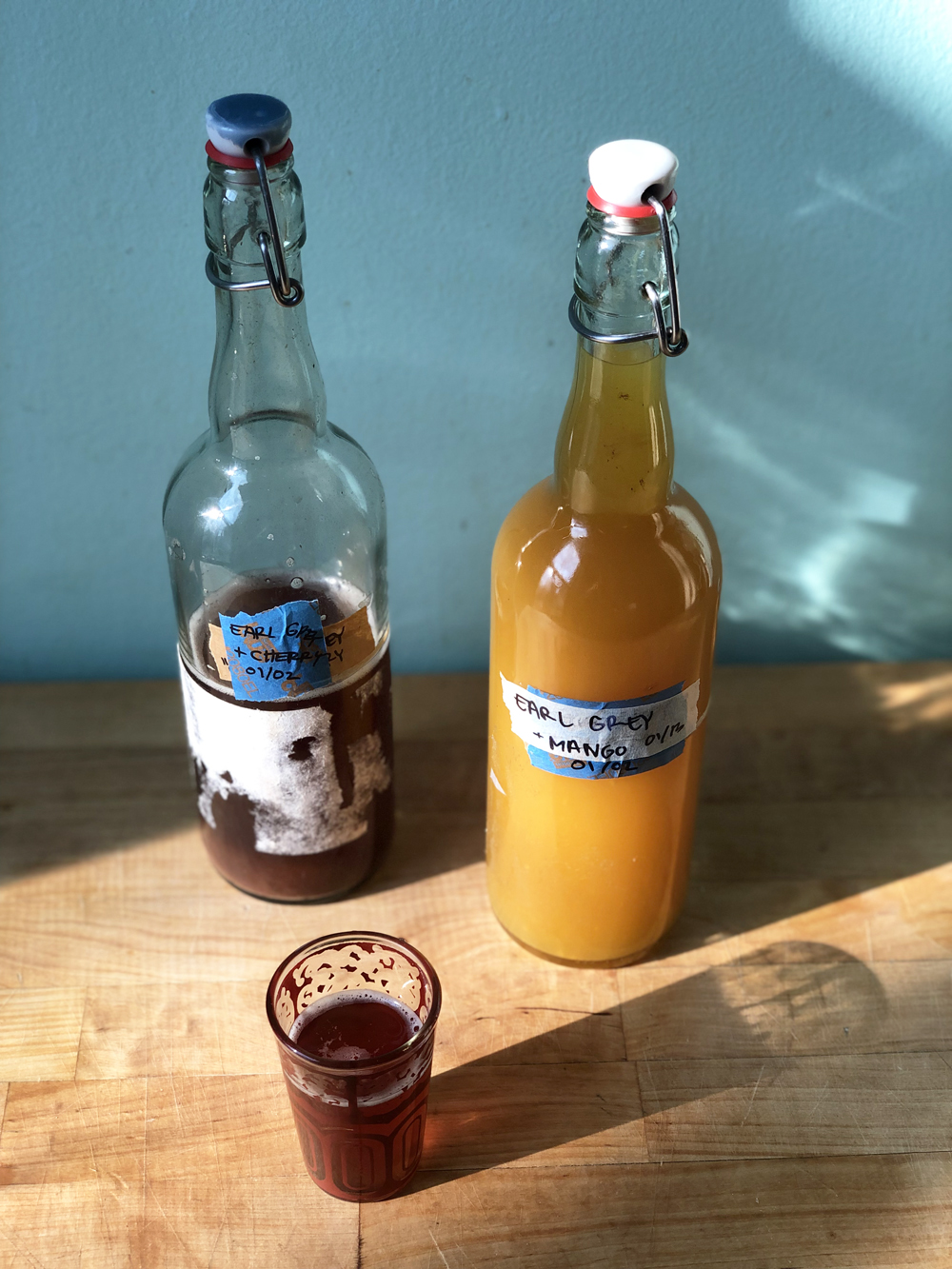 homemade kombucha healthy probiotic