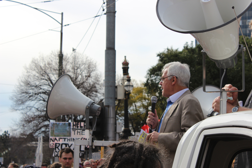 Julian Burnside addresses MarchAustralia Rally.jpg