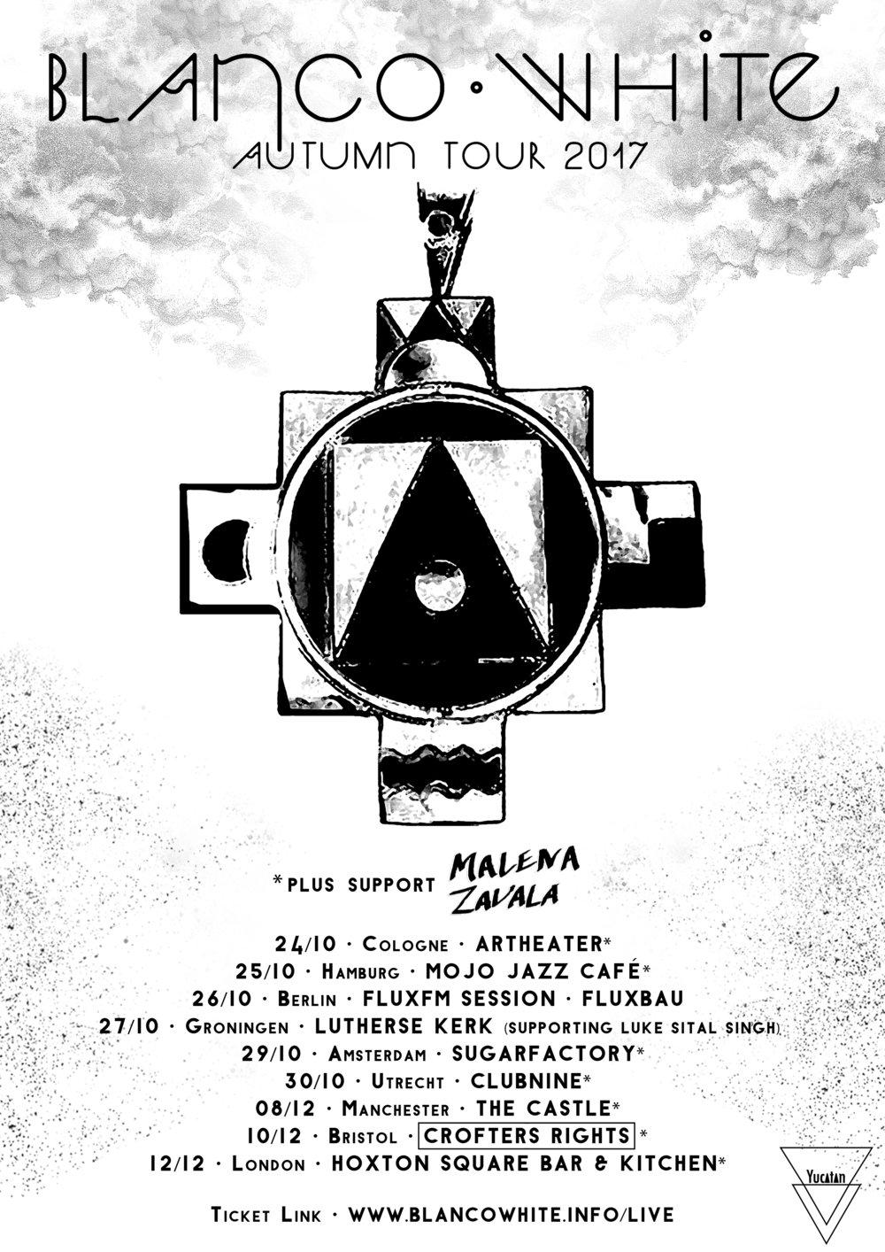 Blanco White + Malena Zavala — Yucatan Records