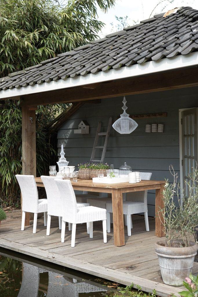 Hanglamp hanglamp riet : Verandau0026#39;s in de stijl van uw huis