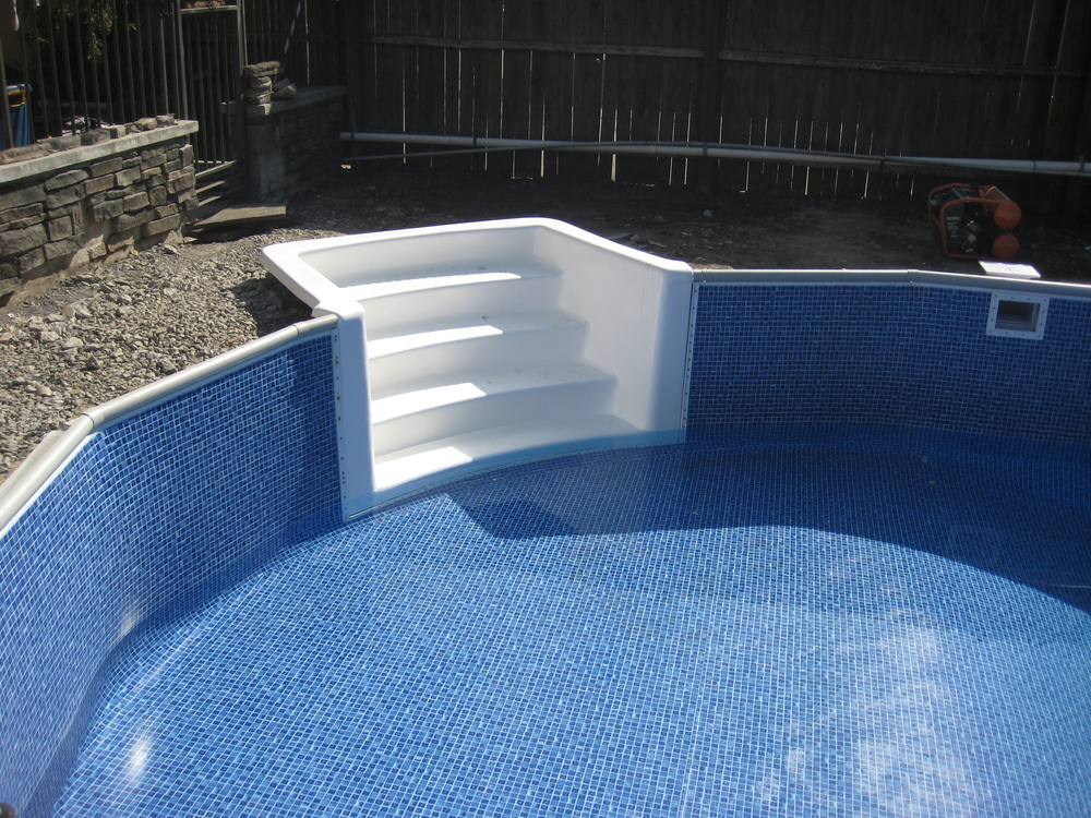 Stairs Inground Pool