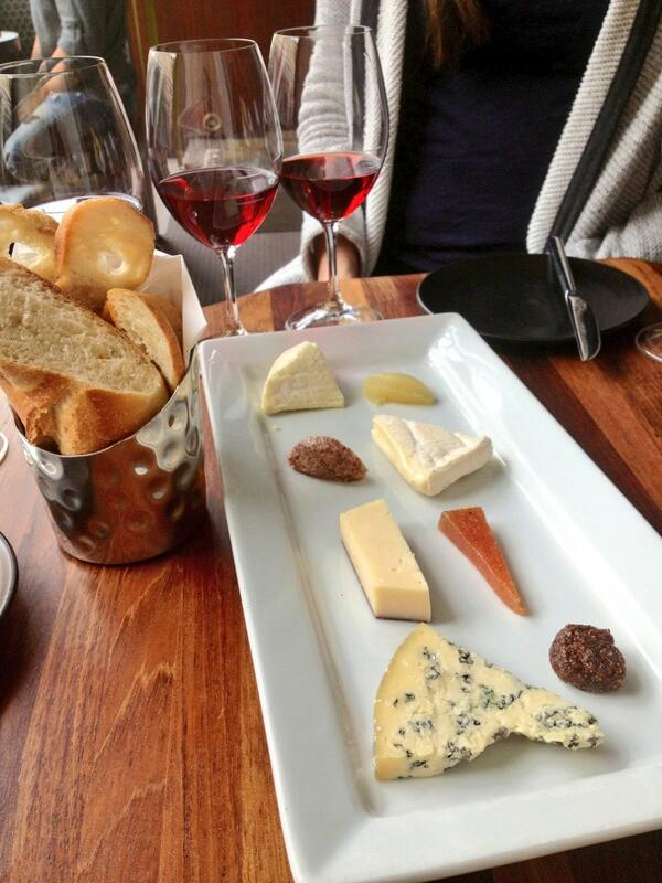 Cheese and wine at Pullman Montreal