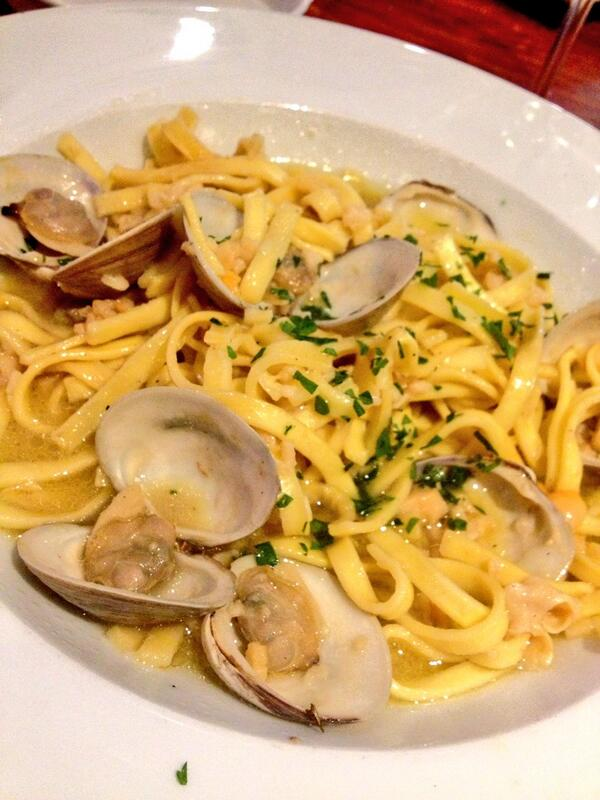 Linguine with Clam Sauce at A Touch of Italy