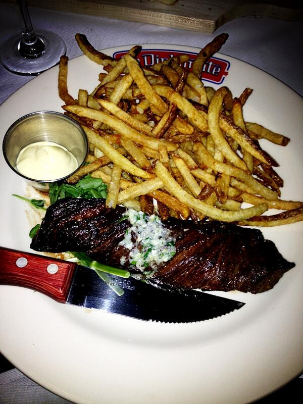 Steak Frites at Le Diplomate