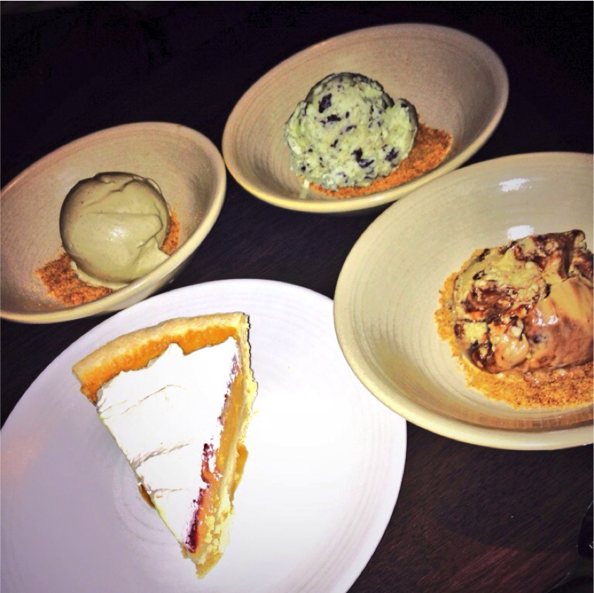 Desserts at The Arsenal