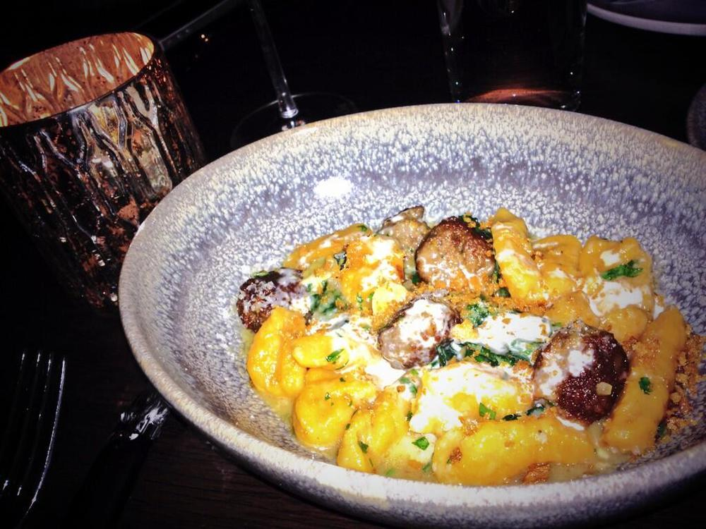 Sweet Potato Gnocchi at The Arsenal