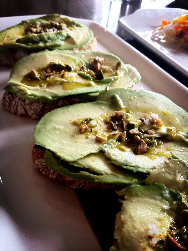 Avocado Toasts at Cork