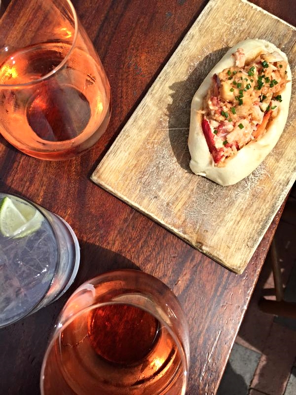 Rosé and Lobster Rolls at Eventide.jpg
