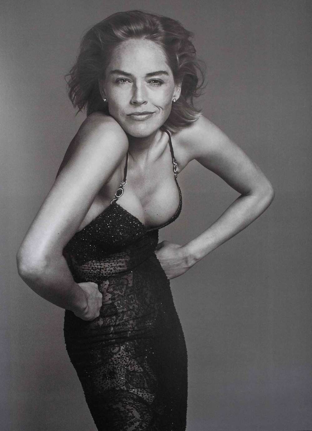 Sharon Stone by Richard Avedon