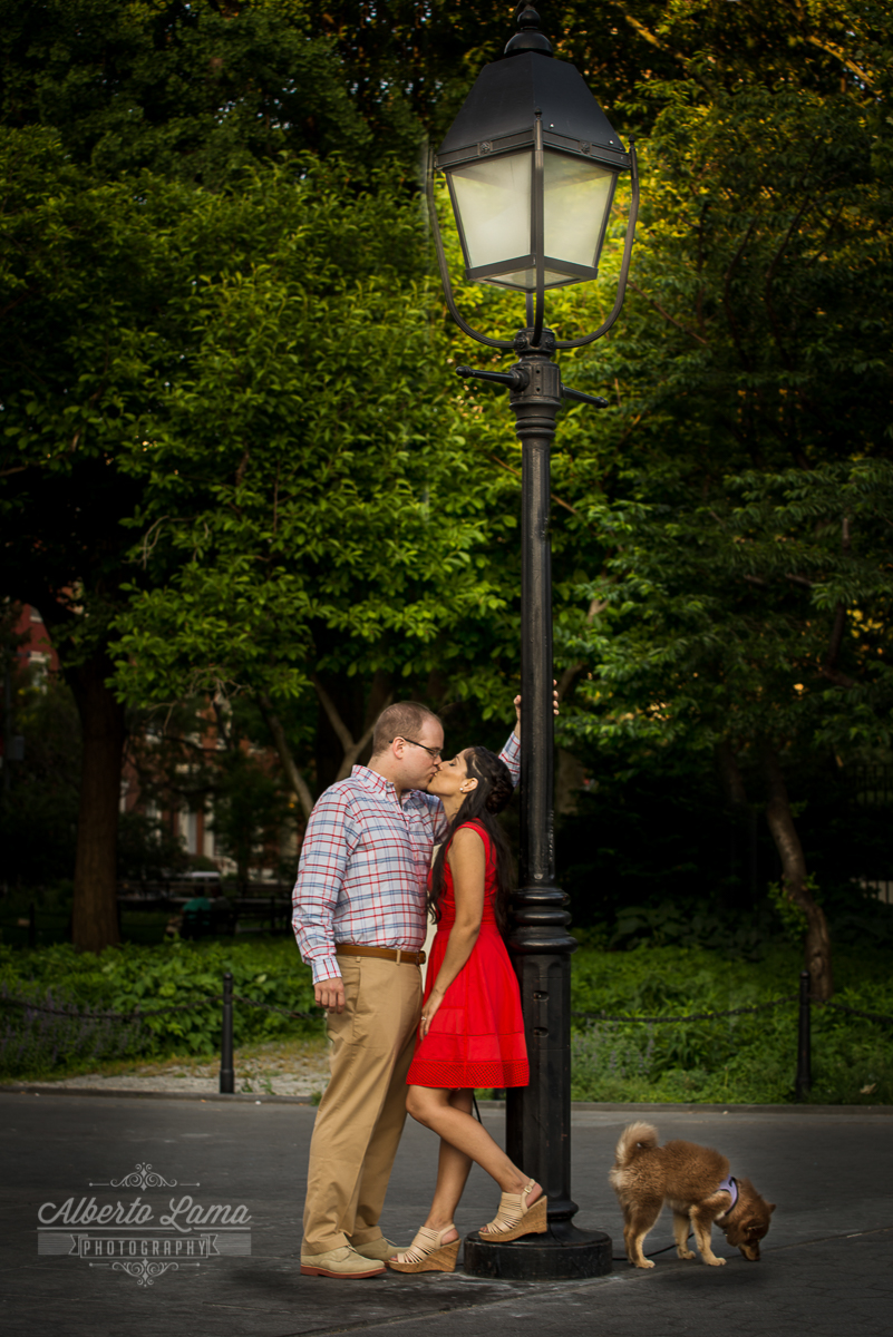 Engagement session, Brooklyn Bridge, Engagement photos,