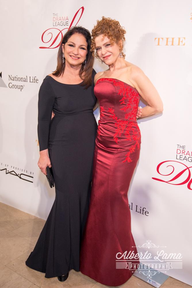 Gloria Estefan and Bernadette Peters