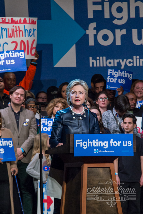 Hillary Clinton at The Apollo Theather