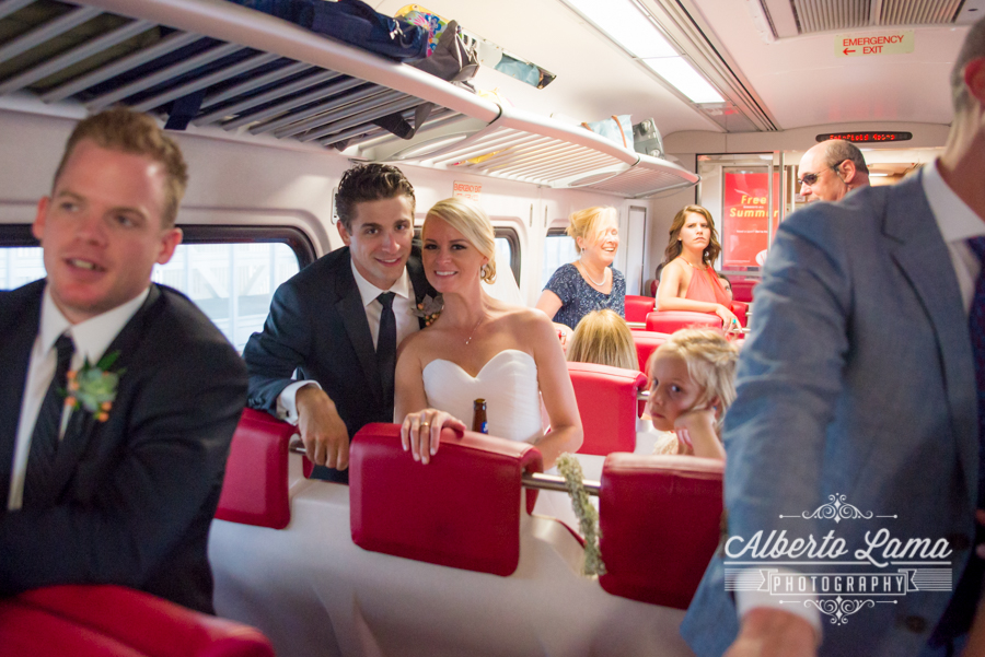 Wedding at the Metro North