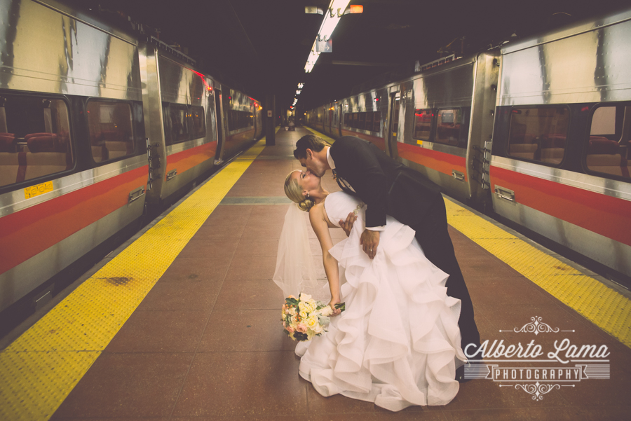 Wedding at the Railroad