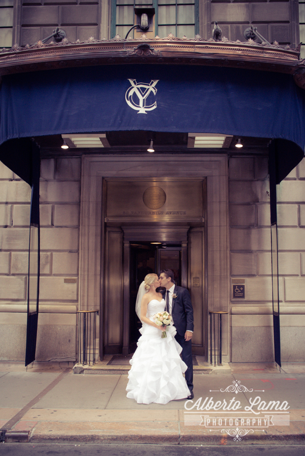 Wedding at the Yale Club