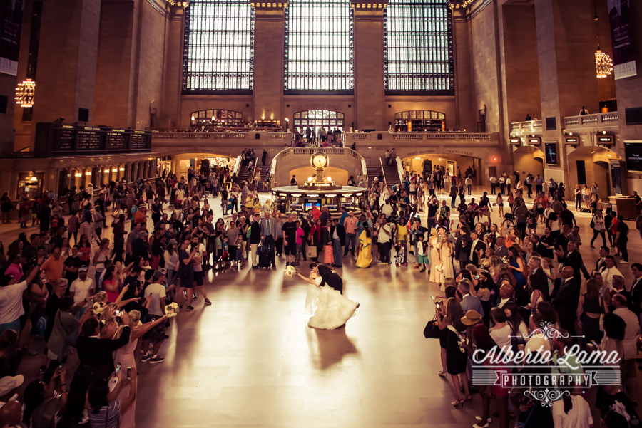Wedding at Grand Central