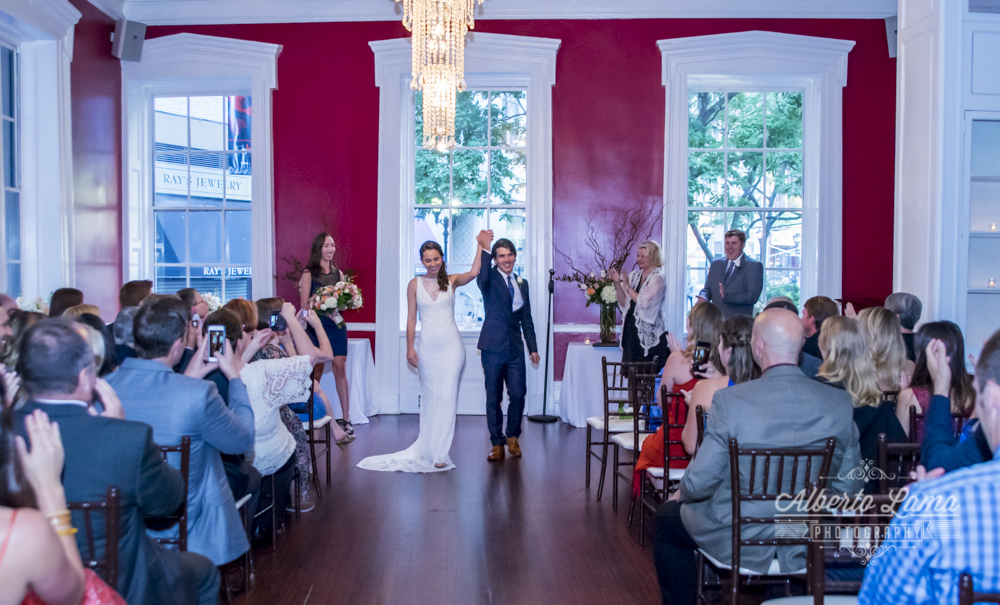 Chris & Frank wedding at The India House. by Alberto Lama Photography