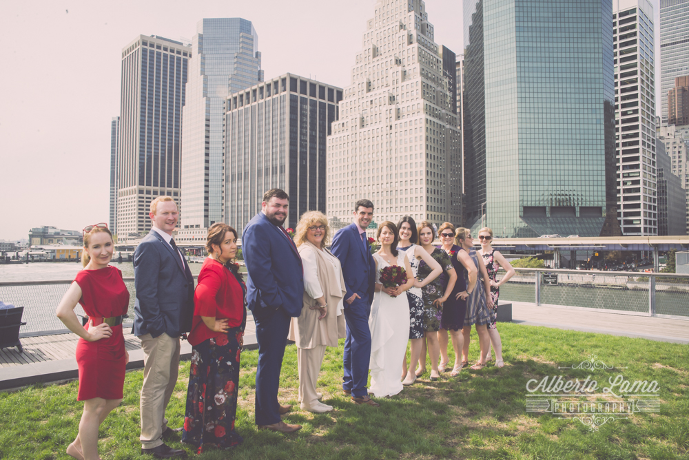 Rebbeca & Colin Wedding tour in NYC by Alberto Lama Photography 2016