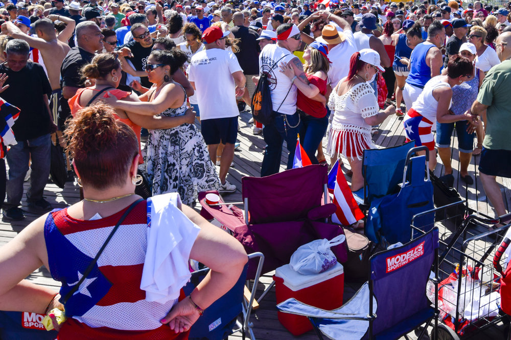 Puerto Rican parade in Brooklyn #travelphotography