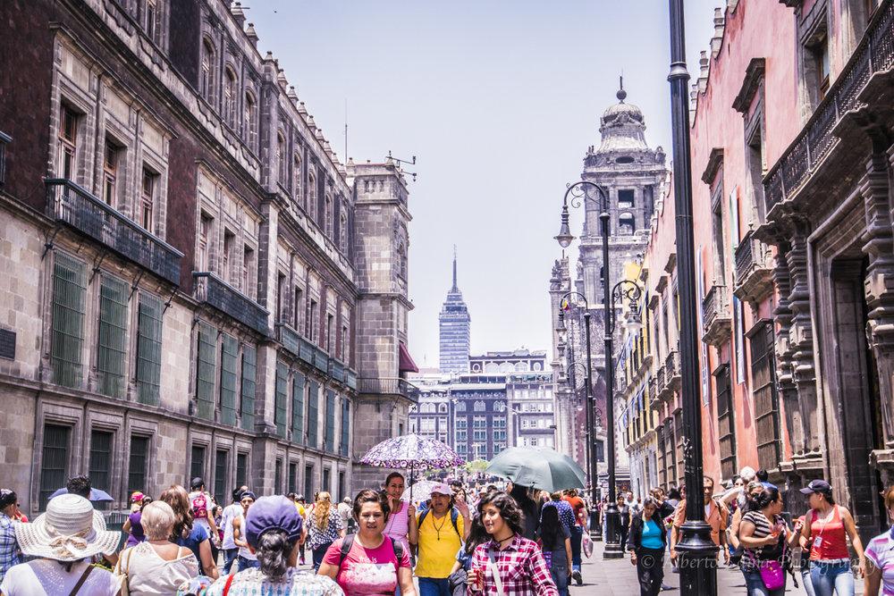 Ciudad de Mexico by Alberto Lama. Travel Photographer