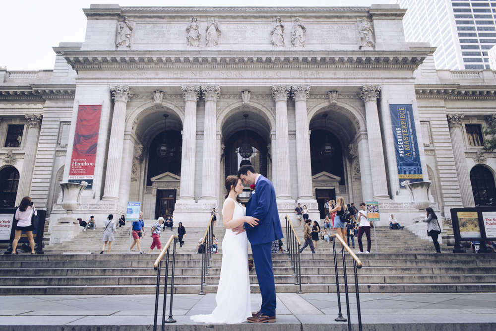 Rebbeca & Colin Wedding tour in NYC by Alberto Lama Photography