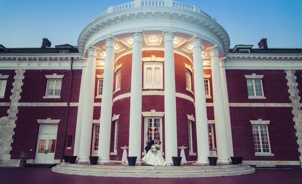 The Bourne Mansion Wedding