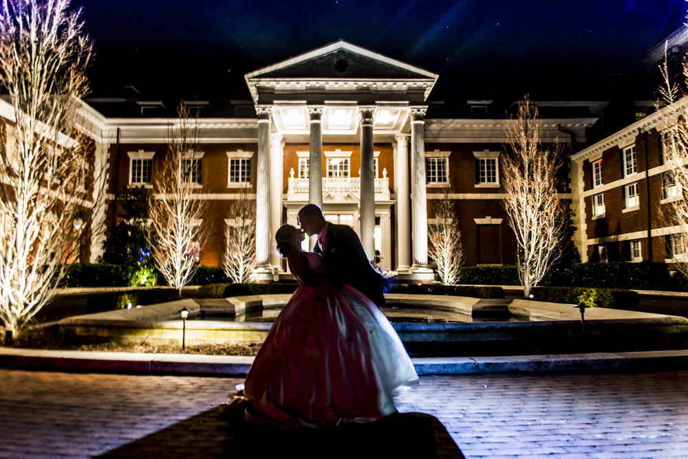 The Bourne Mansion Wedding