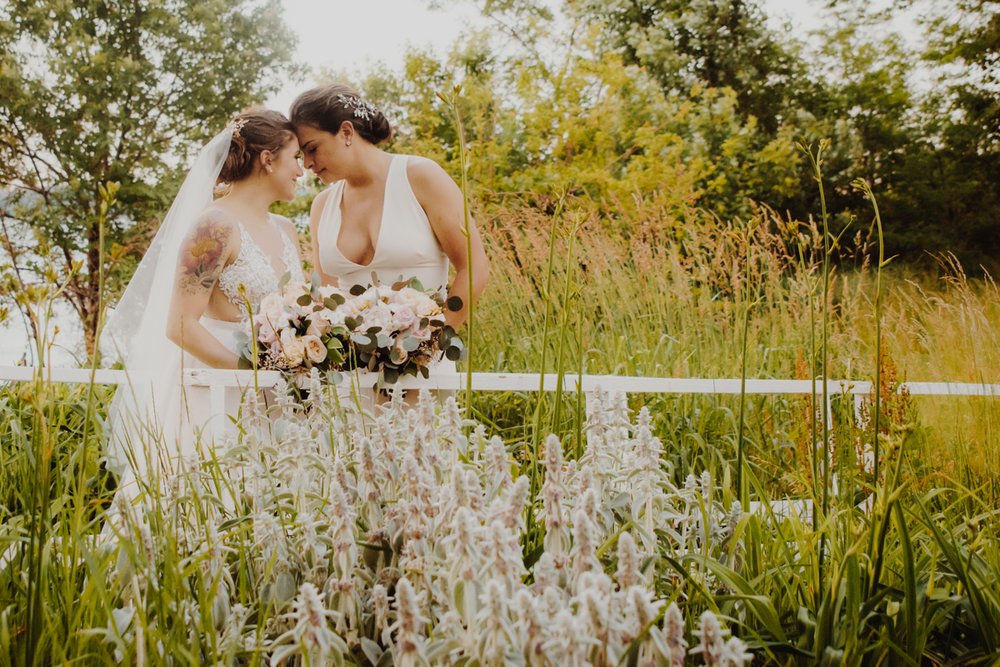 Casie & Elyse Beautiful & Romantic wedding at  Alice Austen House  by www.Unveiled-Weddings.com #AliceAustenHouse #StatenIslandWedding #WeddingPhotographer #WeddingDress #NewYorkWedding