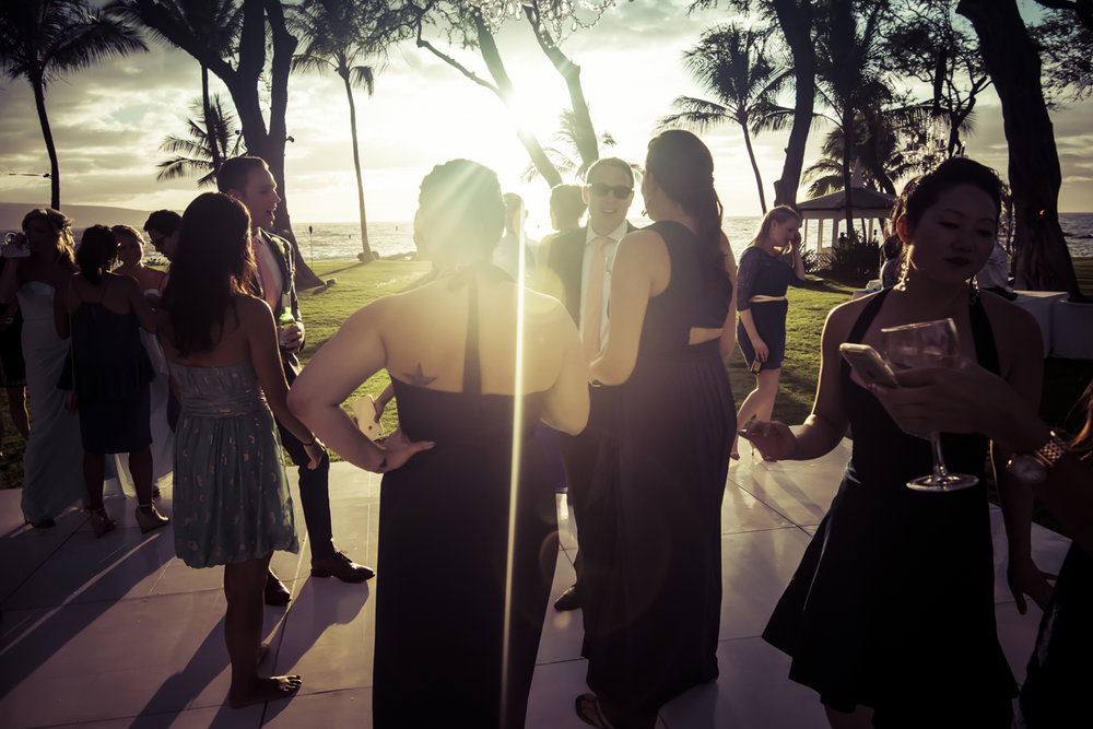 Destination Wedding in Hawaii by Alberto Lama