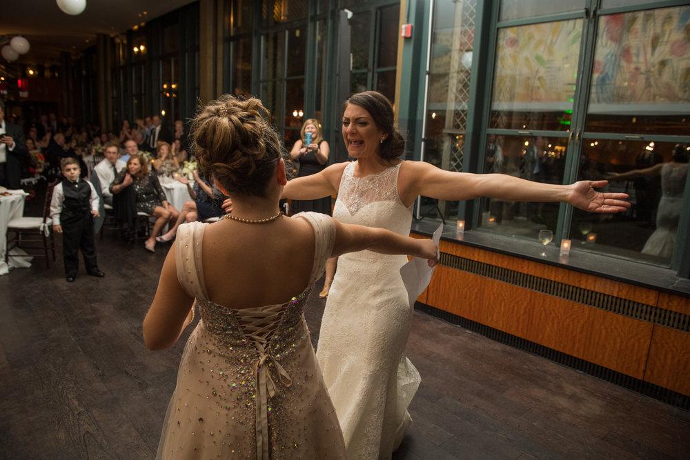 Lauren & Venkat wedding by Unveiled-Weddings.com @ Bryant Park Grill