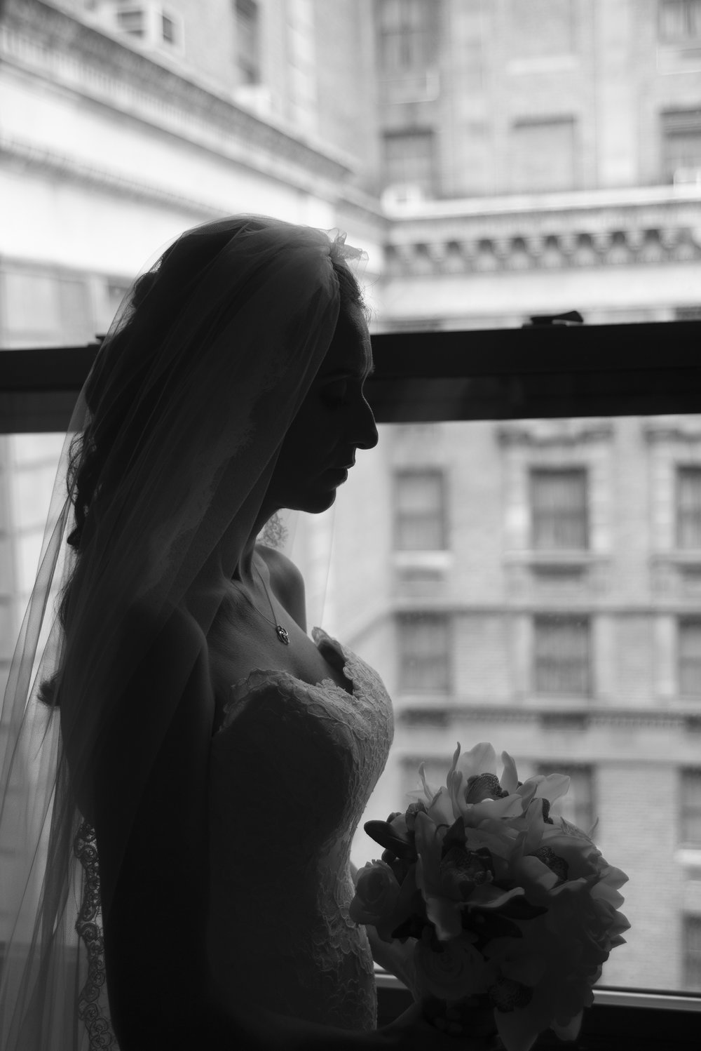 Jen & Matt's NYC Wedding at The Roosevelt Hotel, Convent of the Sacred Heart (The Burden Kahn Mansions), and The Yale Club. Photographed by Unveiled-Weddings.com / @unveiledweddings_ #rooseveltnyc #NewYorkWedding #WeddingDress