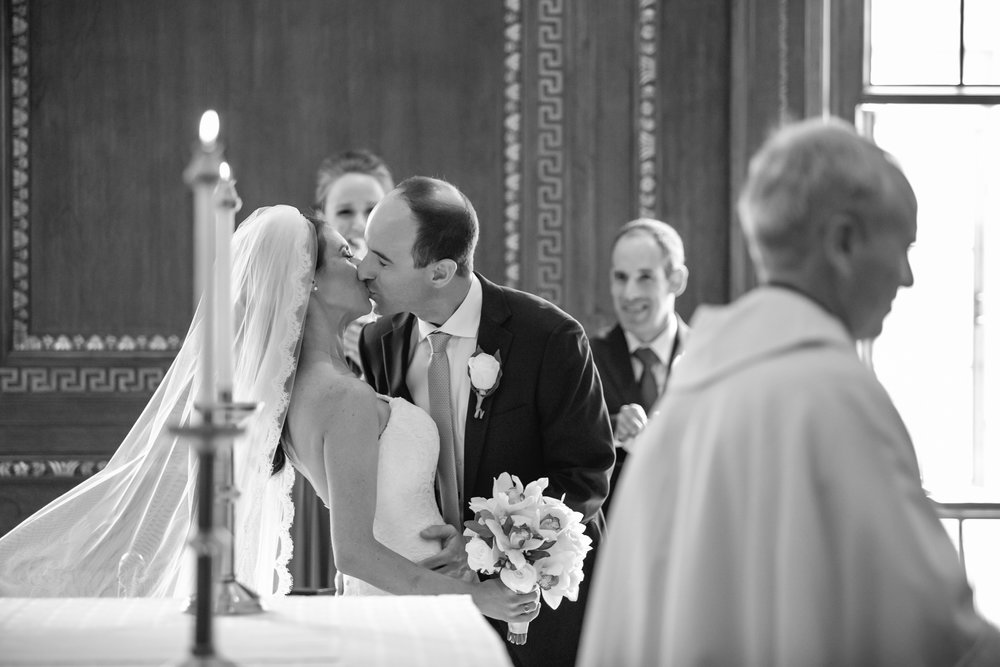 Jen & Matt's NYC Wedding at The Roosevelt Hotel, Convent of the Sacred Heart (The Burden Kahn Mansions), and The Yale Club. Photographed by Unveiled-Weddings.com / @unveiledweddings_ #rooseveltnyc #NewYorkWedding #WeddingDress #YaleClub #SacredHeartNYC
