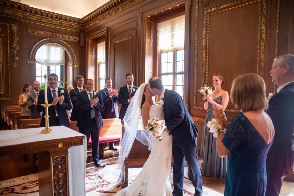 Jen & Matt's NYC Wedding at The Roosevelt Hotel, Convent of the Sacred Heart (The Burden Kahn Mansions), and The Yale Club. Photographed by Unveiled-Weddings.com / @unveiledweddings_ #unveiledweddingstudio #sacredheartnyc #burdenkahnmansion #burdenkahnmansions