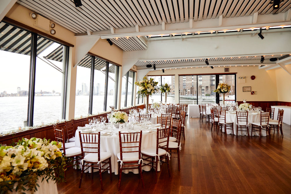 The Water Club, NYC     * photo credit Unveiled Weddings