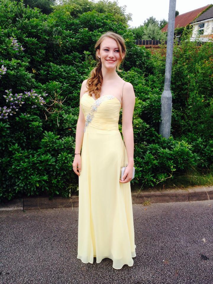 I adore my prom dress!