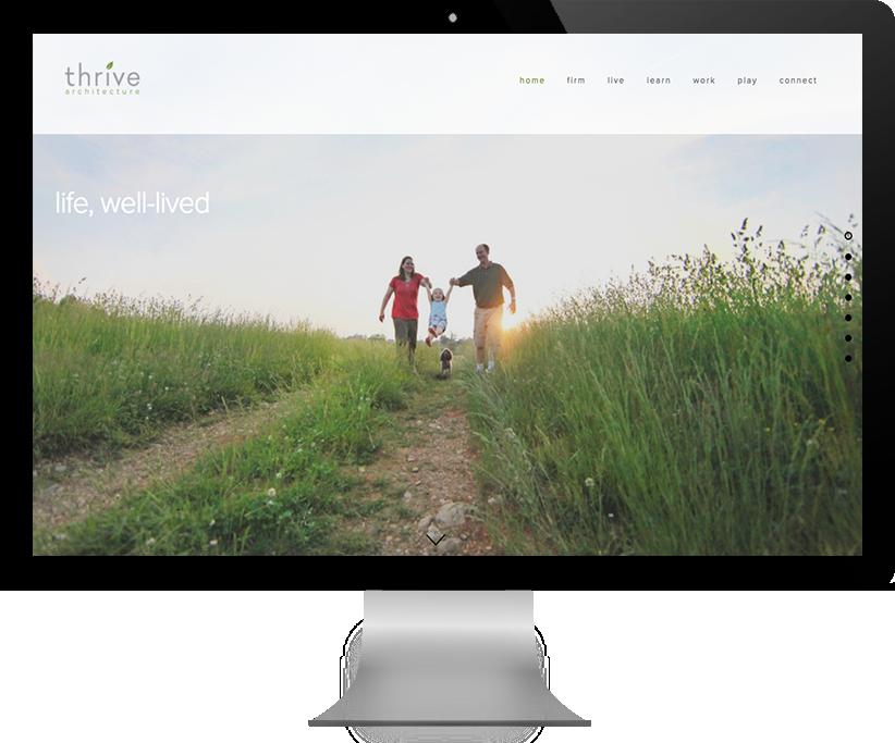Thrive Architecture Website Design by Brightworks Studio