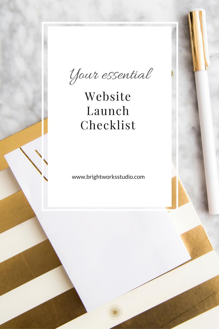 Brightworks Studio's Essential Website Launch Checklist
