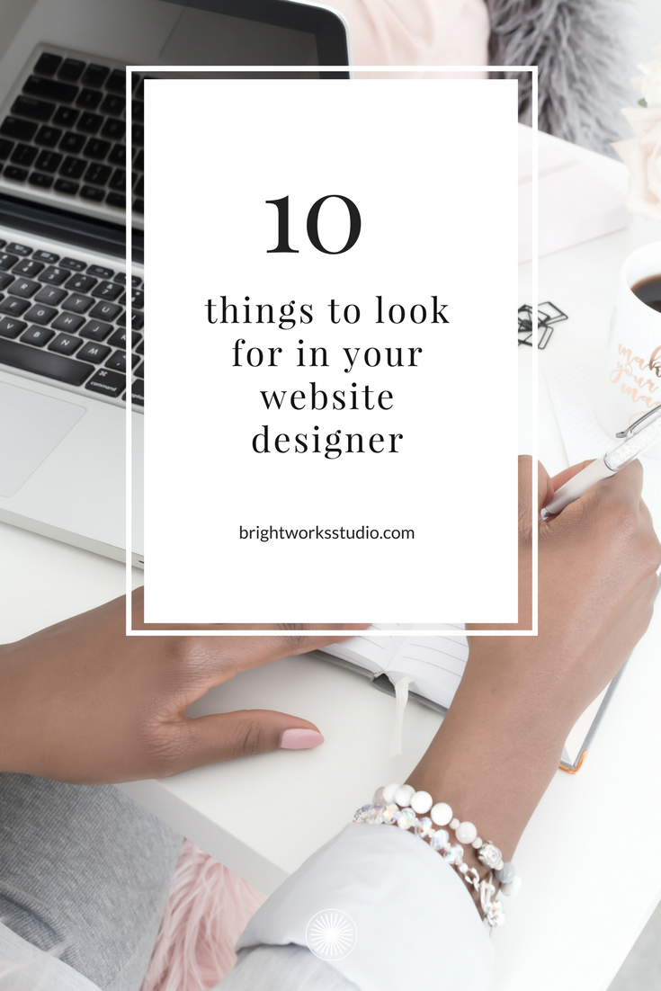 10 things to look for in your website designer